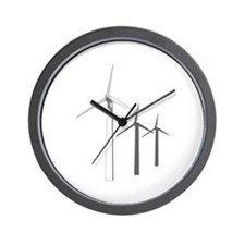 WIND POWER Wall Clock
