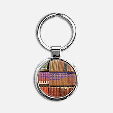 Subversive Librarians Round Keychain