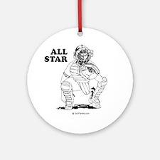 All star catcher Ornament (Round)