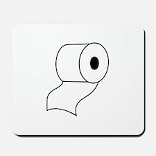 TOILET PAPER Mousepad