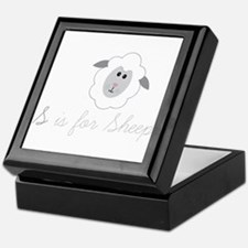 S Is For Sheep Keepsake Box