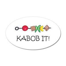 Kabob It! Wall Decal