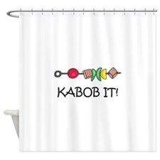 Kabob It! Shower Curtain