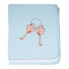 Keys baby blanket