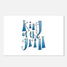 King Of The Grill Postcards (Package of 8)