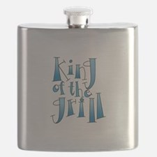 King Of The Grill Flask