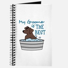 MY GROOMER IS THE BEST Journal