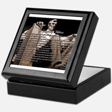 Gettysburg Address Keepsake Box