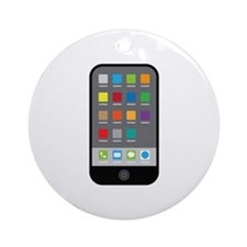 Smart Phone Ornament (Round)
