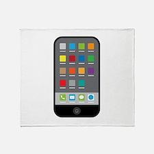 Smart Phone Throw Blanket