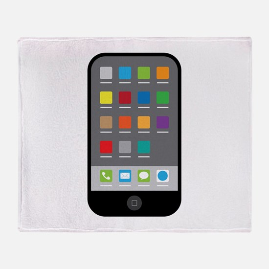 Smart Phone Throw Blanket