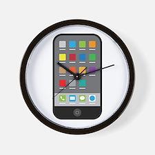 Smart Phone Wall Clock