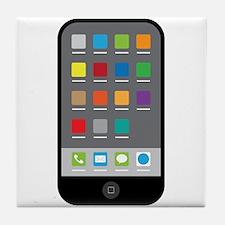 Smart Phone Tile Coaster