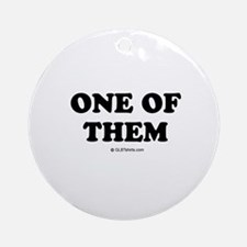 One of them Ornament (Round)