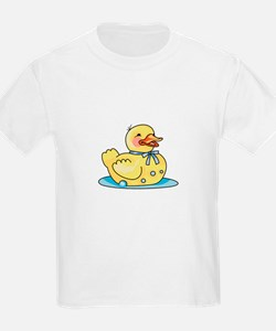 RUBBER DUCK ON WATER T-Shirt