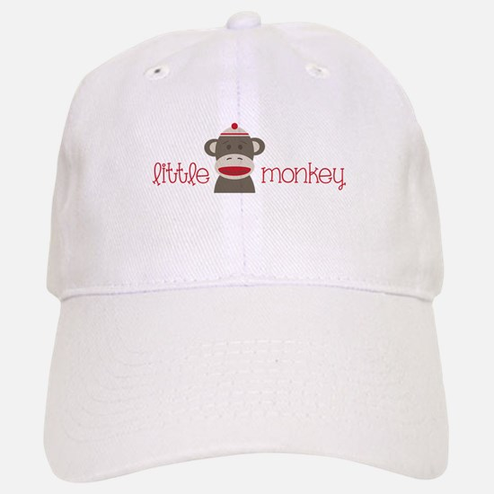Little Monkey Baseball Baseball Baseball Cap