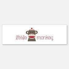 Little Monkey Bumper Bumper Bumper Sticker