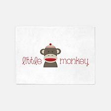Little Monkey 5'x7'Area Rug