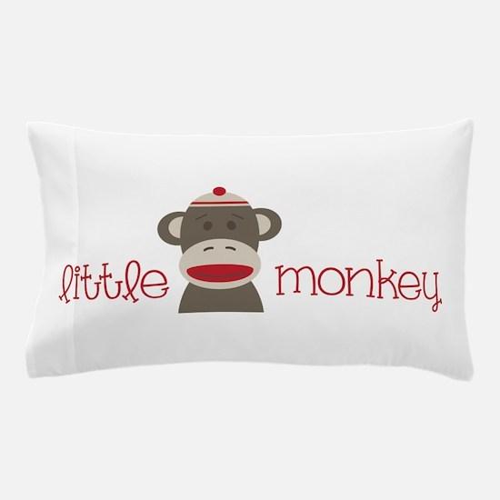 Little Monkey Pillow Case