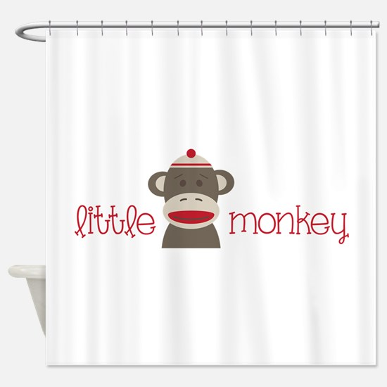 Little Monkey Shower Curtain