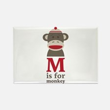 M Is For Monkey Magnets