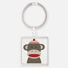 Sock Monkey Keychains