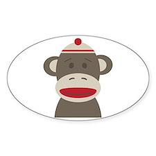 Sock Monkey Decal