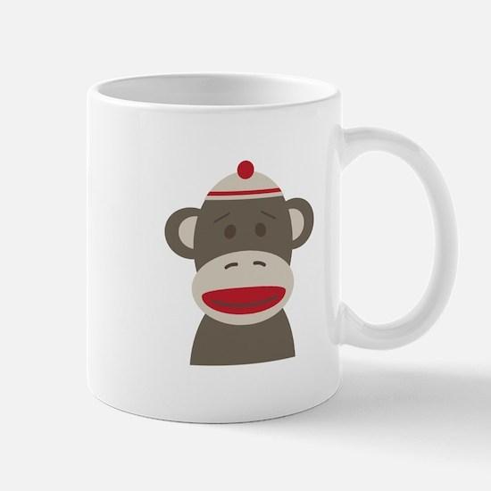 Sock Monkey Mugs
