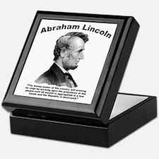 Lincoln: Money Keepsake Box