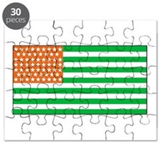 Irish American Flag 1 Puzzle
