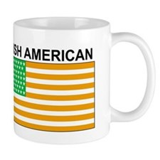 Irish American Flag 3 Mugs