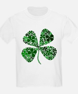 Infinite Luck Four Leaf Clover T-Shirt