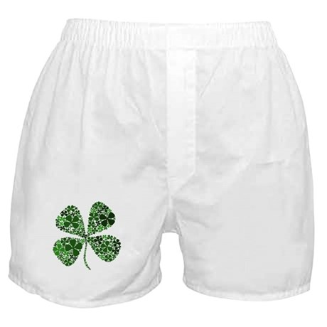 Infinite Luck Four Leaf Clover Boxer Shorts