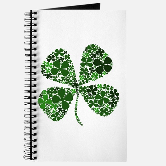 Infinite Luck Four Leaf Clover Journal