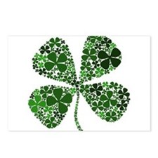 Infinite Luck Four Leaf Clover Postcards (Package