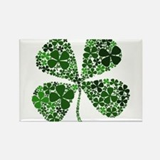 Infinite Luck Four Leaf Clover Rectangle Magnet