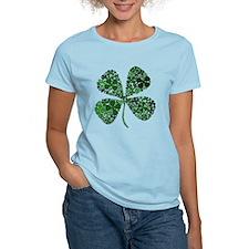 Infinite Luck Four Leaf Clover T-Shirt
