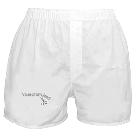 Vasectomy Vasectomized Boxer Shorts
