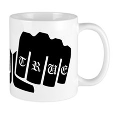 Stay True Knuckle Tattoo Mugs