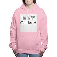 hella tree oakland Women's Hooded Sweatshirt