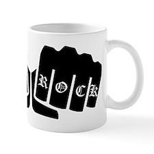Punk Rock Knuckle Tattoo Mugs
