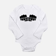 Thug Life Knuckle Tattoo Body Suit