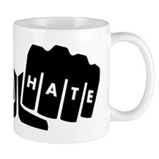 Love Hate Knuckle Tattoo Mugs