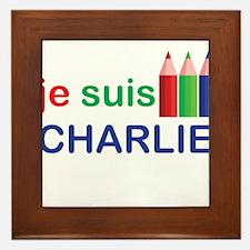 Je Suis Charlie Large Framed Tile