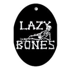 Lazy Bones Ornament (Oval)