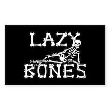 Lazy Bones Bumper Stickers