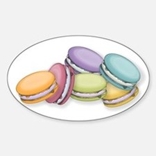Colorful French Macaron Cookies Decal