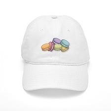 Colorful French Macaron Cookies Baseball Baseball Cap