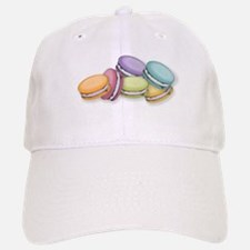 Colorful French Macaron Cookies Baseball Baseball Cap
