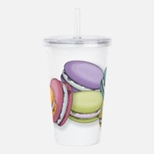 Colorful French Macaro Acrylic Double-wall Tumbler